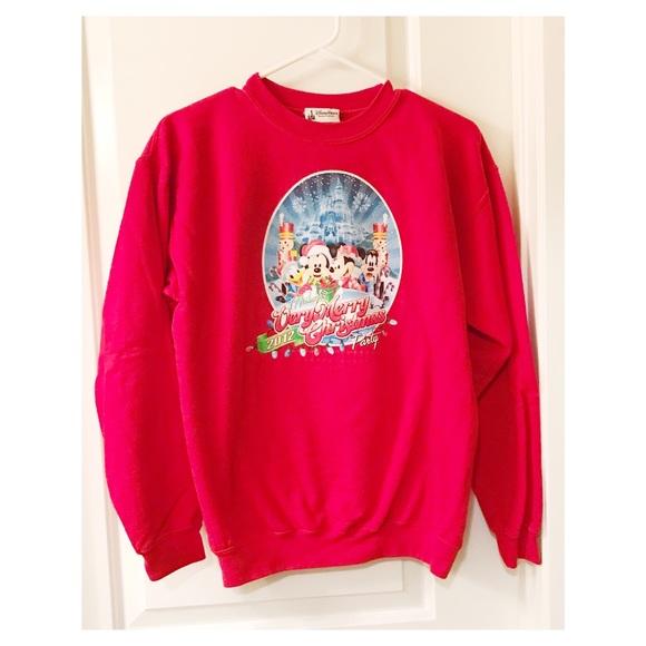 disney christmas sweatshirt
